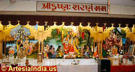 Radha Krishna Temple on Pioneer Blvd © ArtesiaIndia.us