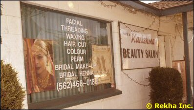 herbal facial, manicure